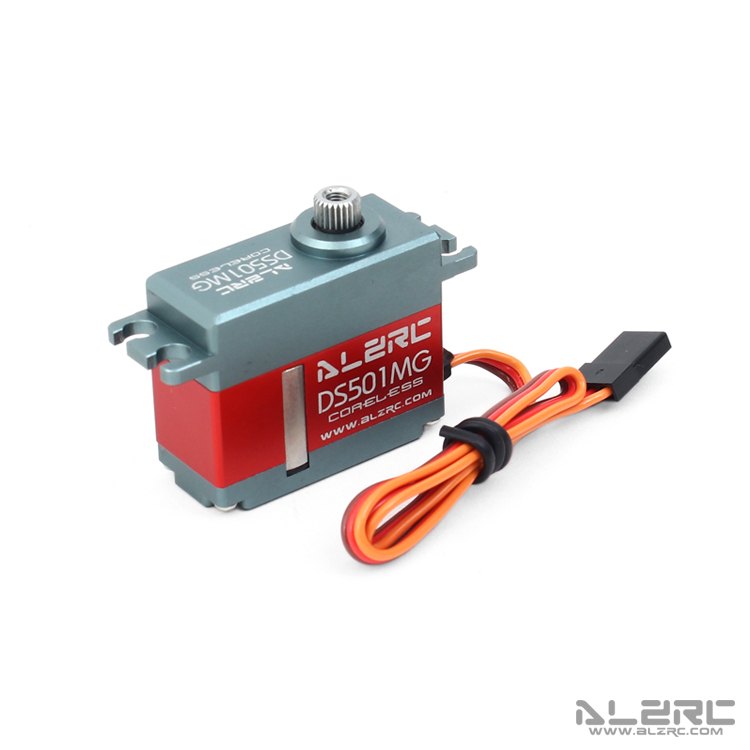 ALZRC - DS501MG 450-500 Medium Digital Metal Locked Rudder Servo Compatible 450-500 Class Helicopter 300 class helicopter
