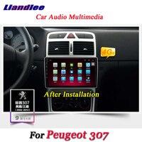 Liandlee автомобиля Android системы для peugeot 307 2001 ~ 2014 радио gps Navi географические карты навигации Wi Fi BT HD экран Мультимедиа без DVD плеер