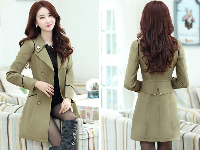 Fashion-spring and autumn-female-long coat