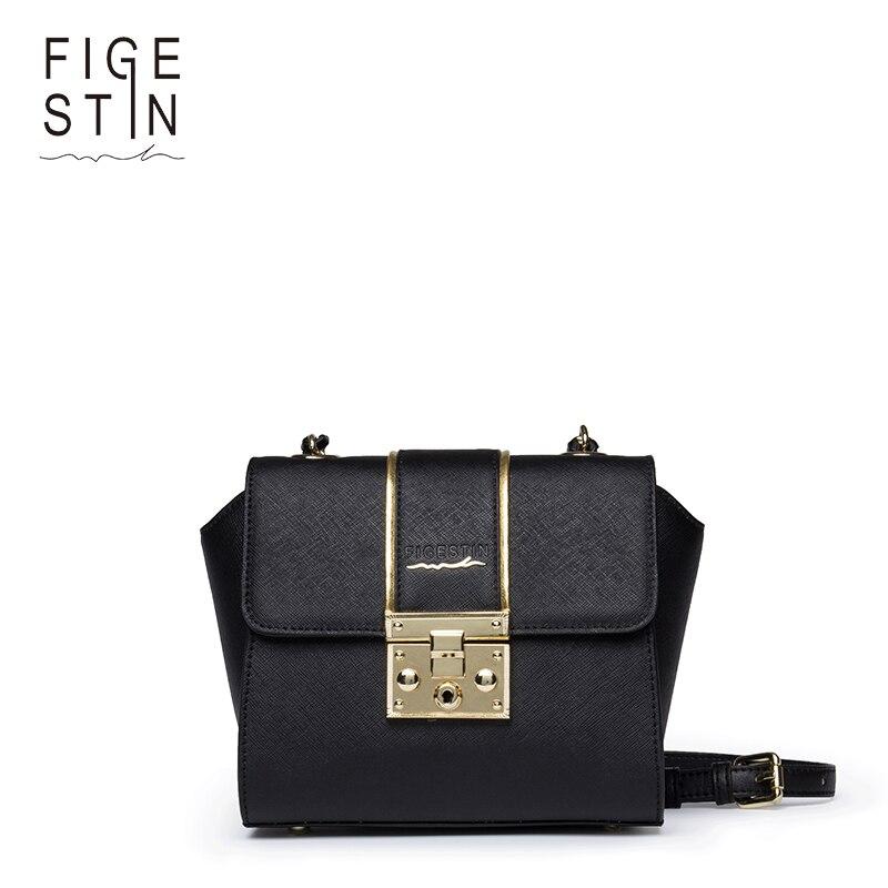 ФОТО FIGESTIN Women Shoulder Bags Fashion Black/Red/Golden Small Luxury Messenger Crossbody Bags for Ladies Original Design New
