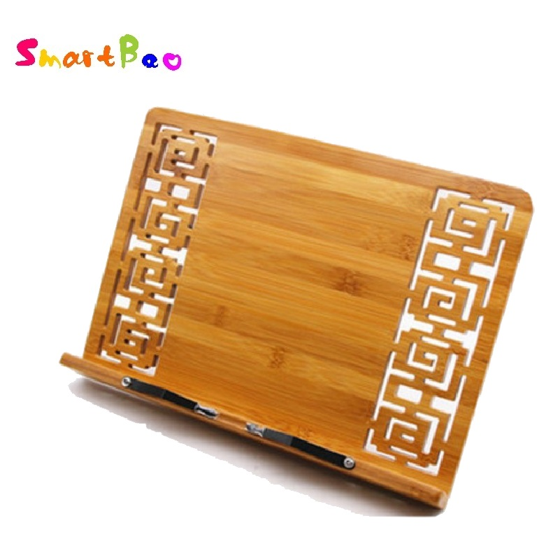<font><b>Bamboo</b></font> <font><b>Book</b></font> <font><b>Stand</b></font> Reading <font><b>bamboo</b></font> Large Medium Small rack zitie rack bookend reading photo frame; <font><b>Book</b></font> <font><b>Stand</b></font> Copy Holder image