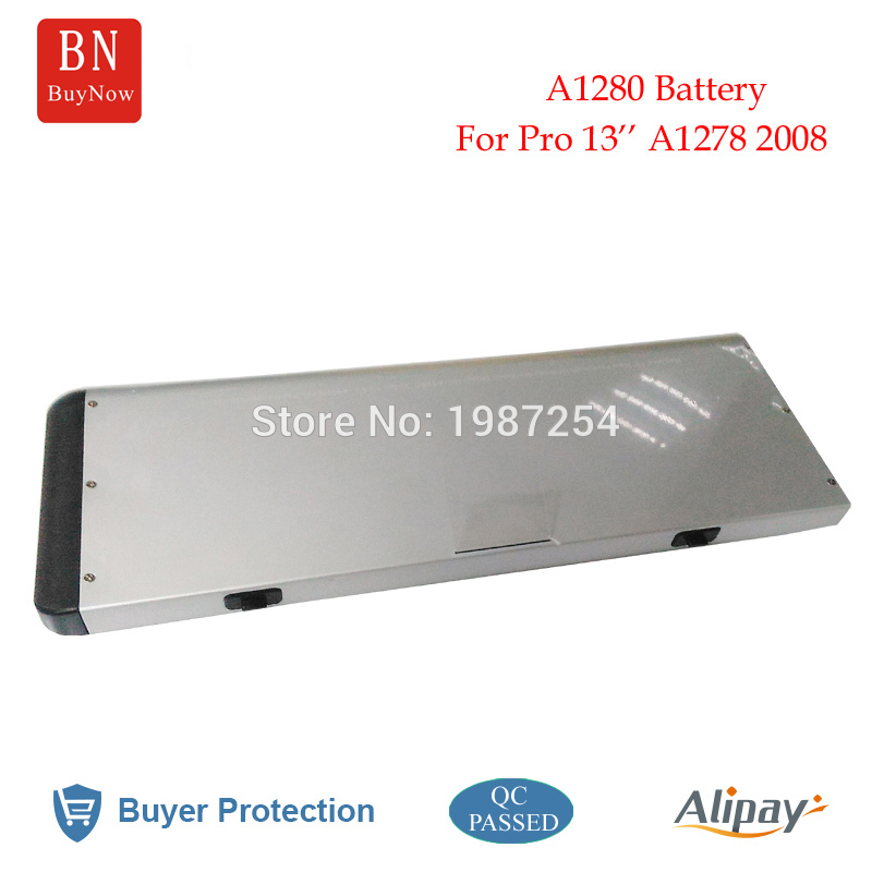 Genuine Cell 10.8V 50WH for Apple A1280 Battery For Apple MacBook Pro 13