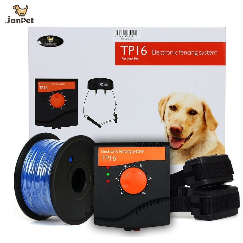 Janpet Rechargeable Electric Fence For 2 Dogs Electronic