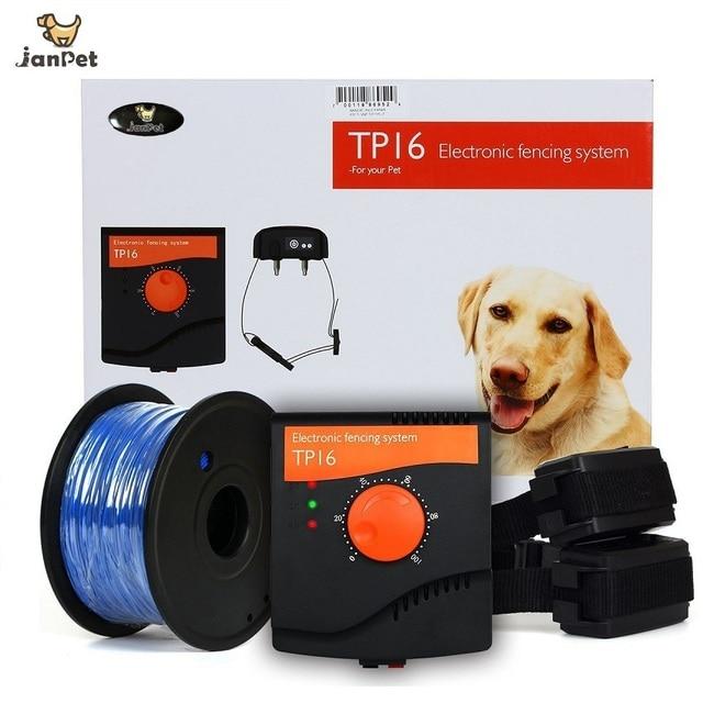 Recinto Elettrico Per Cani.Janpet Recinto Elettrico Ricaricabile Per 2 Cani Collare Elettronico