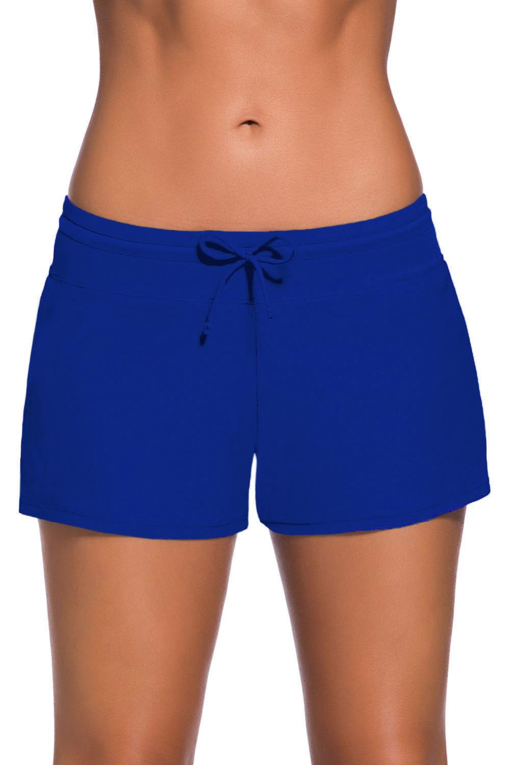 Royal-Blue-Women-Swim-Boardshort-LC41977-5-1