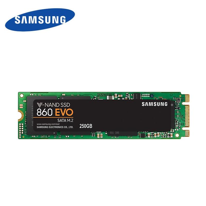 Samsung 860 evo 2280 SSD m2 500GB 250GB 1TB 2TB hdd SATA3 V NADA Internal Solid