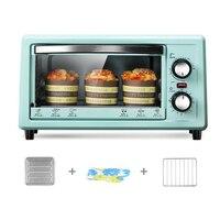 DMWD, 11 л, Бытовая мини-электрическая духовка, 220 В, 800 Вт, многофункциональная машина для выпечки пиццы, торта, сушилка для овощей и фруктов