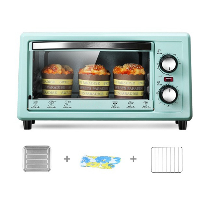 DMWD 11L Household Mini Electric Oven 220V 800W Multifunctional Pizza Cake Baking Machine Vegetable And Fruit Dehydrator