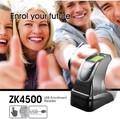 USB sensor de impressão digital USB Bimétrica Fingerprint USB Scanner ZK4500 Leitor Entrolment Cstable e Excelente Leitor de Impressão Digital