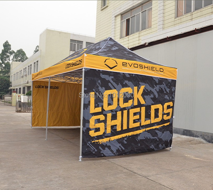 3x6 pop up tent details(1).jpg & Custom Printing tent with Free shipping / 3X6m Outdoor Promotion ...
