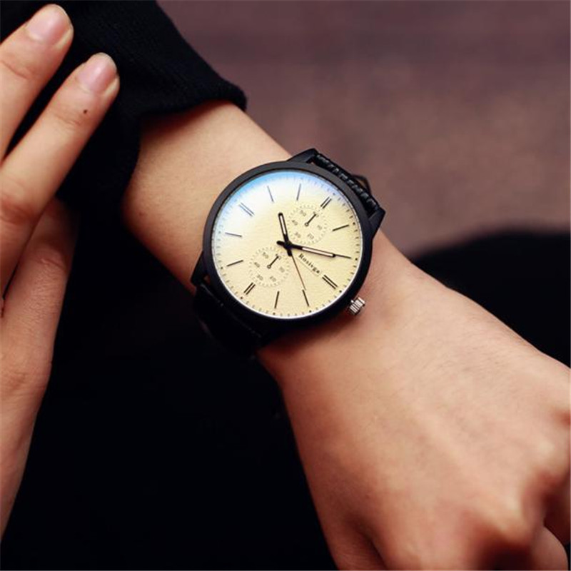 Relogio Masculino Men Watch Minimalist Watches Top Brand Luxury Business Big Dial Lovers ...