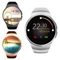 Lemse kw18 smart watch sim apoio tf cartão do bluetooth smartwatch relógio de pulso relógio de freqüência cardíaca de fitness para a apple android telefone
