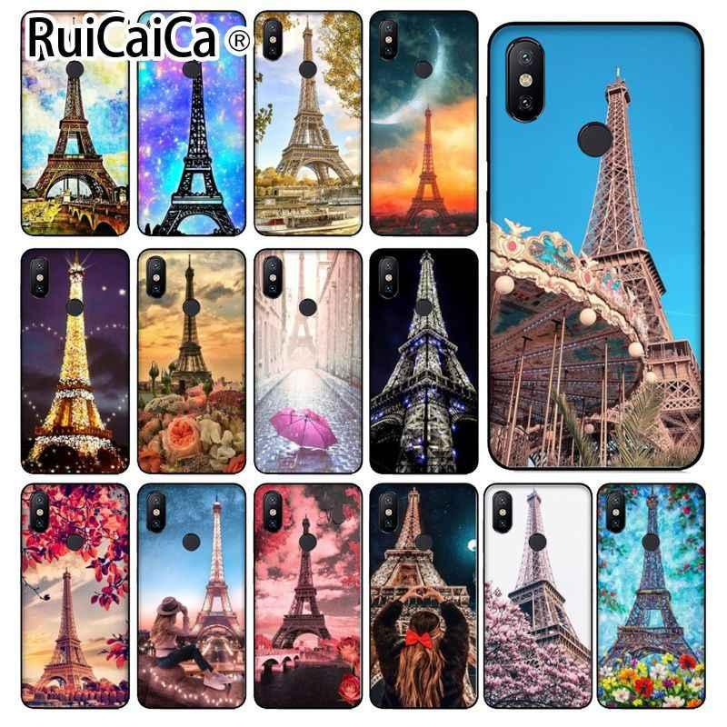 Ruicaica Paris tour Eiffel France TPU souple Silicone housse de téléphone pour Xiao mi mi Note 3 6 8 8SE mi X 2 S rouge mi 5 Plus Note 5