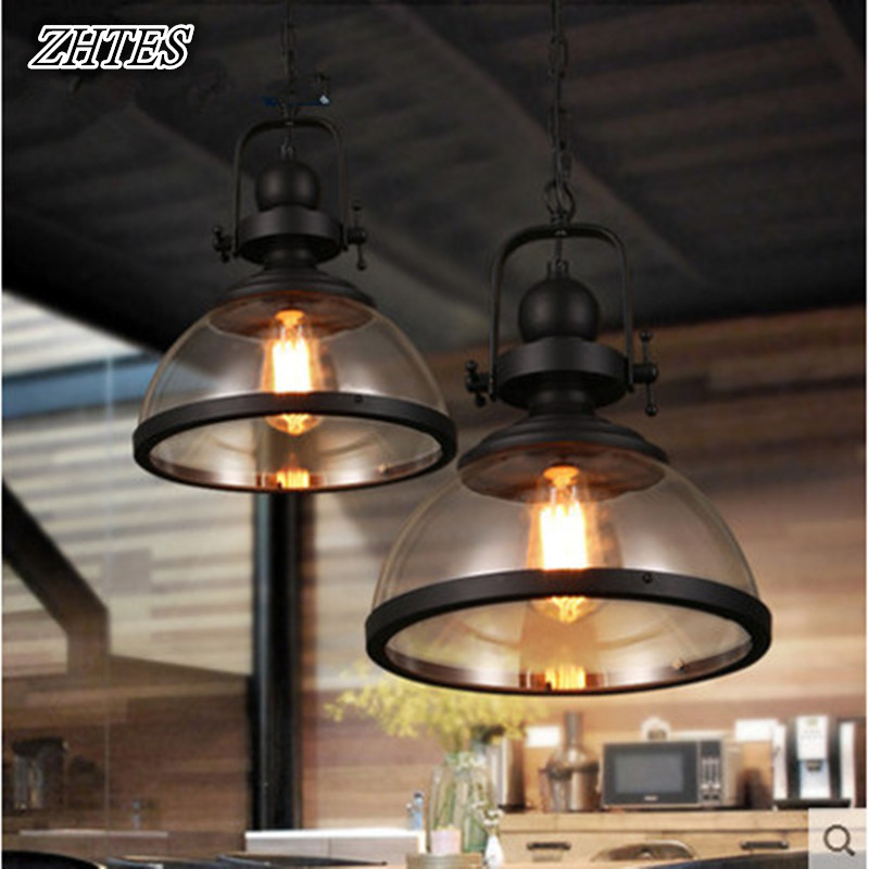 Retro Chandelier Nordic Restaurant Cafe Bar Personality Creative Arts Glass Chandelier creative chandelier cafe bar bar restaurant lounge ktv single headed personality retro bottle decorative lamps
