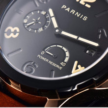 2019 New Automatic Watch Men Parnis Top Brand Luxuury Mencha