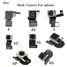 OEM 100 TEST WORKING Back Rear Camera With Flash Module Sensor Flex Cable For iPhone 4