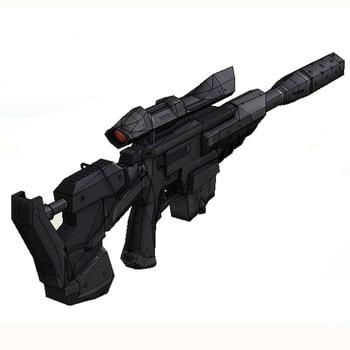 цены Star Wars Sniper Rifle Gun Fun 3d Paper Diy Miniature Model Kits Puzzle Toys Children Educational Boy Splicing Science Hobby