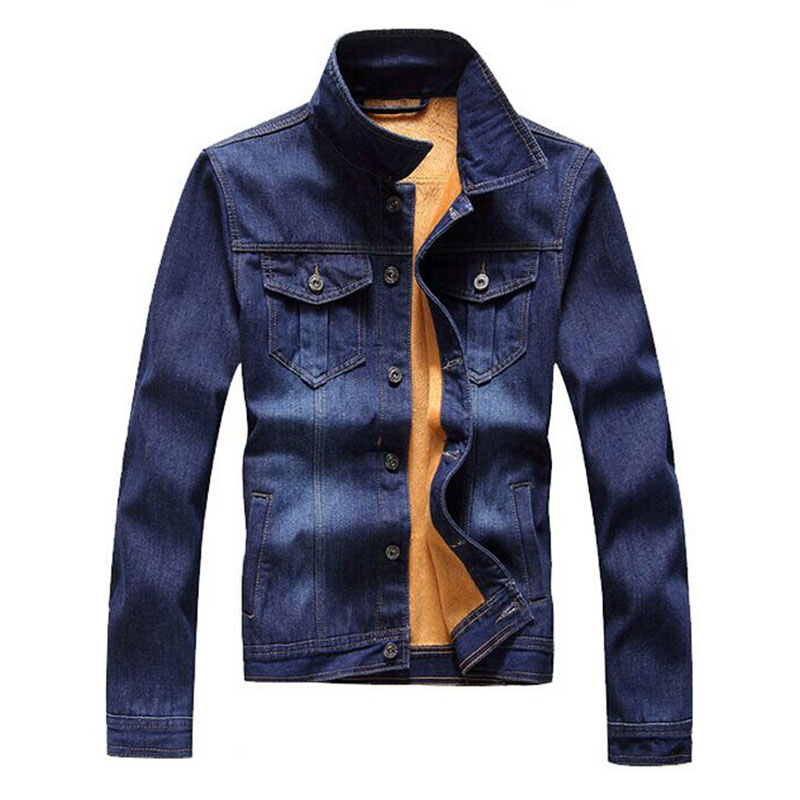Mens Fleece Lined Jacket L5pfkp