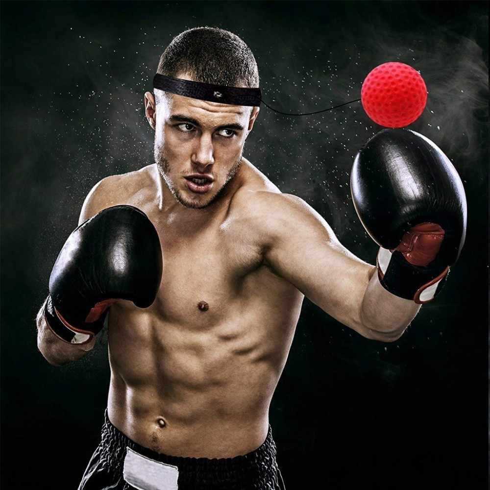 Moeite waard Kick Boksen Reflex Bal Hoofd Band Vechten Speed Training Punch Bal Muay Tai MMA Oefening Apparatuur Accessoires