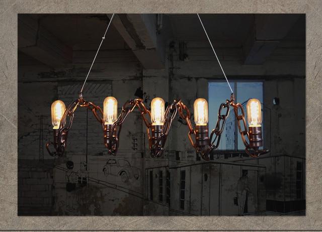 Industriele Keuken Lamp : Loft decor industriële keukens kroonluchter voor keuken vintage