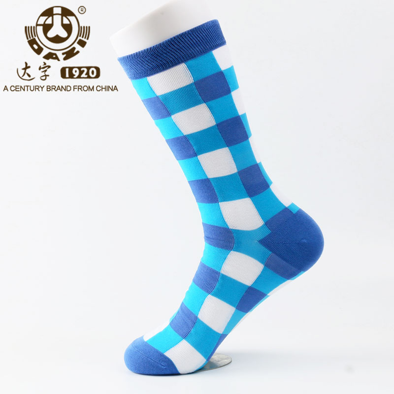 Dazi 2017 Men Socks Newly Colorful Easeful Breathable Bamboo Fiber Socks Funny Happy Casual Socks Hot Sales Discount In Limit