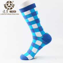 Dazi 2017 Newly Colorful Men Socks Easeful Breathable Bamboo Fiber Funny Happy Casual Hot Sales Discount In Limit