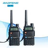 2Pcs BaoFeng UV 5R Walkie Talkie Two Way Radio Dual Band Baofeng UV 5R Portable CB Walkie talkie UV5R Walkie Talkie Flashlight