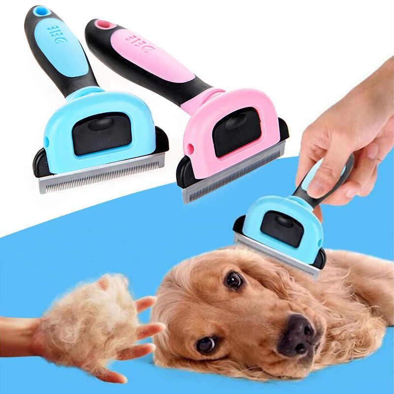 1 шт., горячая новинка, расческа для собак, триммер для кошек, без электричества, щетка для ухода за питомцем, щенок, котенок, нож для волос