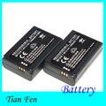 TianFen Caliente Venta 2 unids Batería BP1310 BP 1310 batería Recargable de Li ion para SAMSUNG NX NX10 NX11 NX20 NX100 NX5 NUEVA