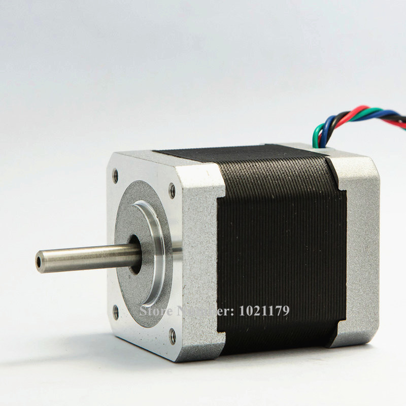 New 42BYGH NEMA 17 stepper motor 48mm 0.4A 3.17Kg.cm 6-lead Nema17 motor 42 motor for 3D printer and CNC X, Y, Z axis 2015 new arriva qidi technology x y axis motor for 3d printer cheap price