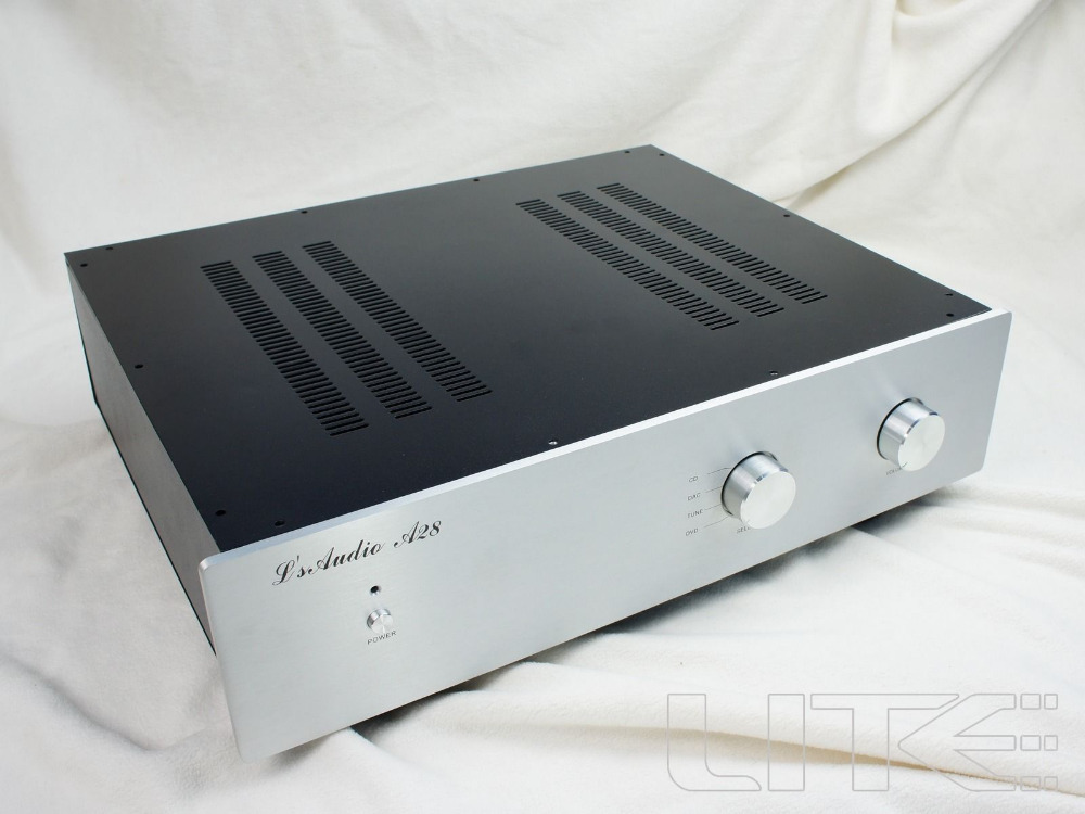 NEW Lite A28 -A series preamplifier general chassis AMP Box amplifier enclosure 2016 new hifi nac152xs preamplifier diy kit base on naim pre amp for nap140