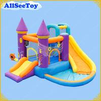 Residential Inflatable Jumping Castle for Family Use,Bounce House Combo Water Slide for Kids,Bouncy Castle Inflatable Halloween