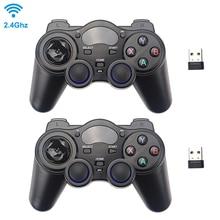 Contrôleur de jeu sans fil 2.4G manette de jeu avec récepteur USB pour PS3 Android TV Box Raspberry Pi 4 Retropie Retroflag NESPi