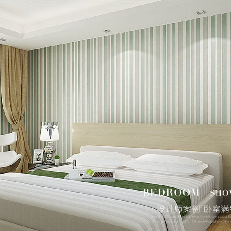 Beibehang wallpaper modern minimalist living room bedroom room 3D vertical stripes flocked wallpaper TV backdrop 3d wallpaper beibehang shop for living room bedroom mediterranean wallpaper stripes wallpaper minimalist vertical stripes flocked wallpaper