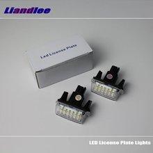 Liandlee For Toyota Corolla (E170) / Levin 2013~2015 / LED Car License Plate Light / Number Frame Lamp / High Quality LED Lights цена в Москве и Питере