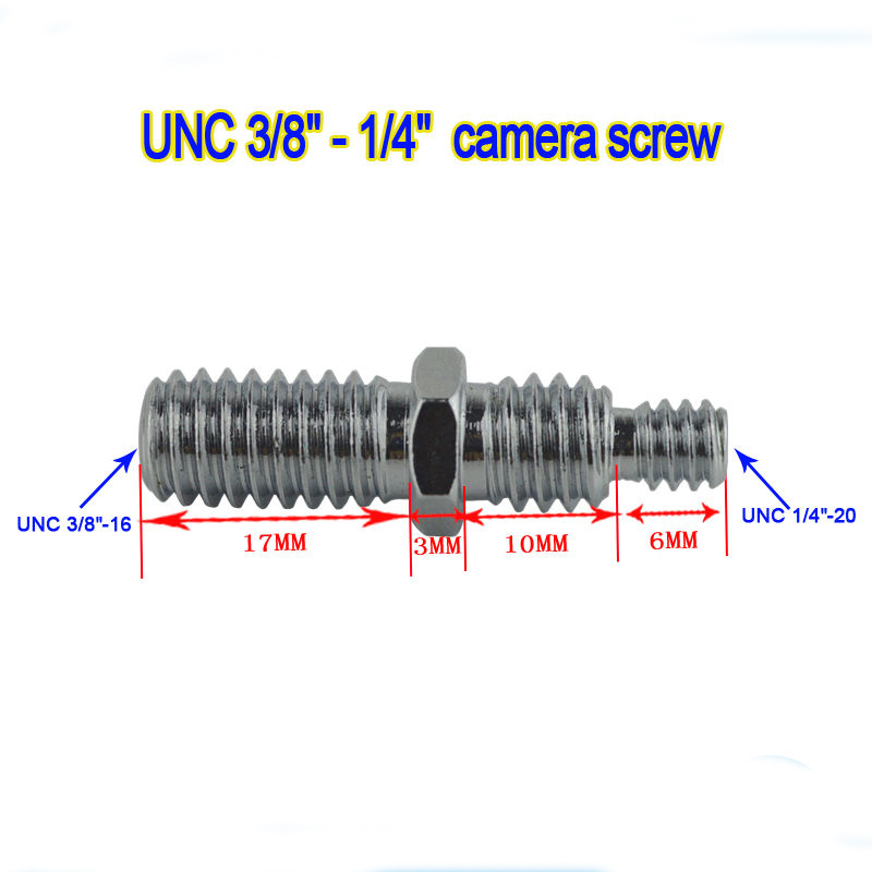 5pcs tripod Accessories Female 1/4 to Male 3/8 Convert Screw Adapter for Tripod Monopod  ...