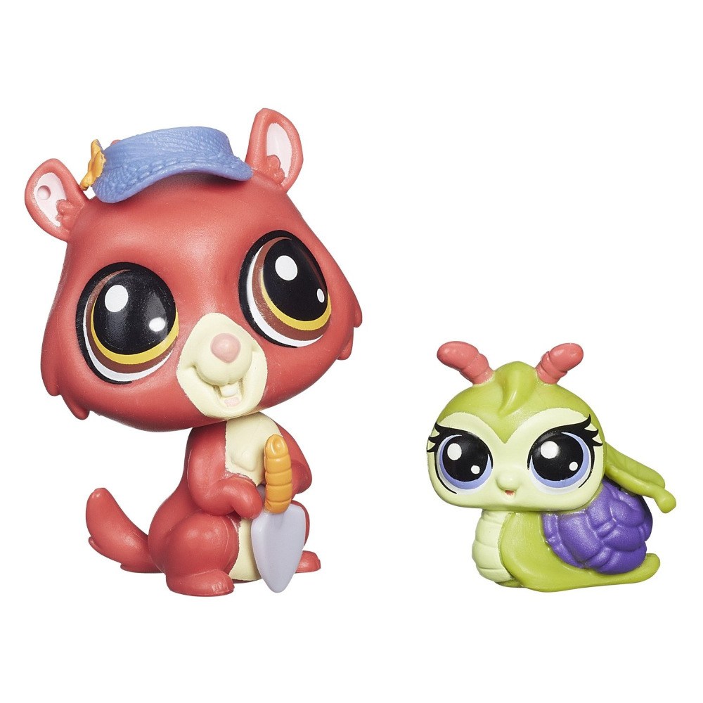1 set Genuine Original Pawsabilities Eunice Greenley and Pacer Landon Doll Collection figures Gift LPS
