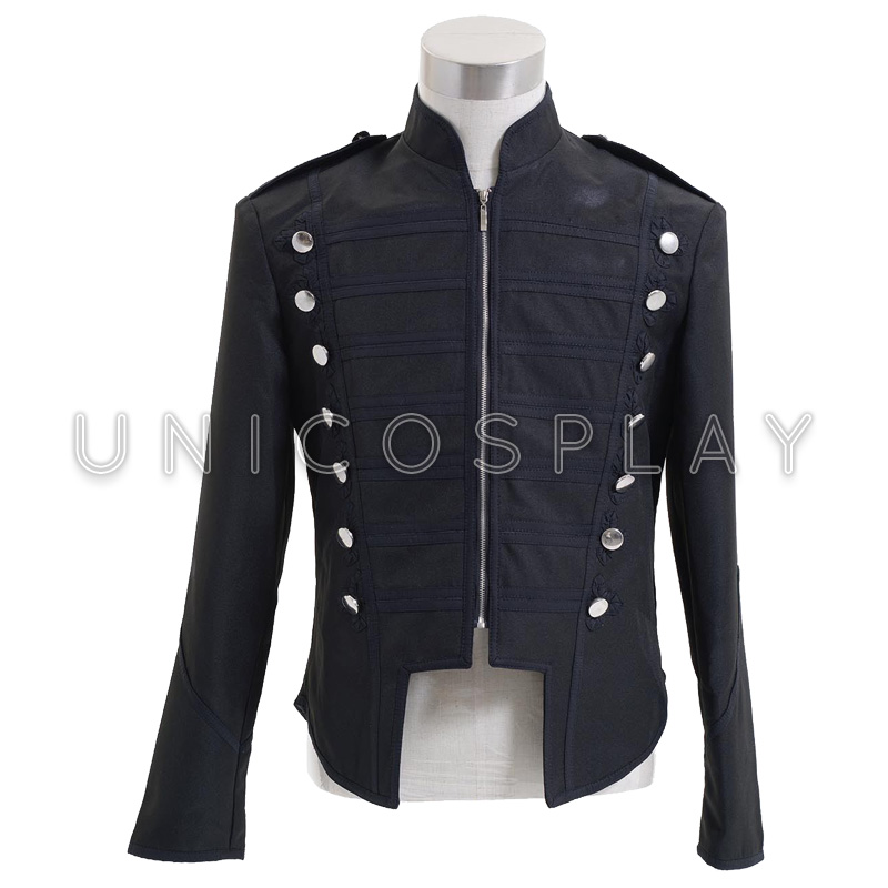 My Chemical Romance Jacket Cosplay Costumes Halloween Carnival Party Punk Coat For Men Black Parade Jackets 4 Colors