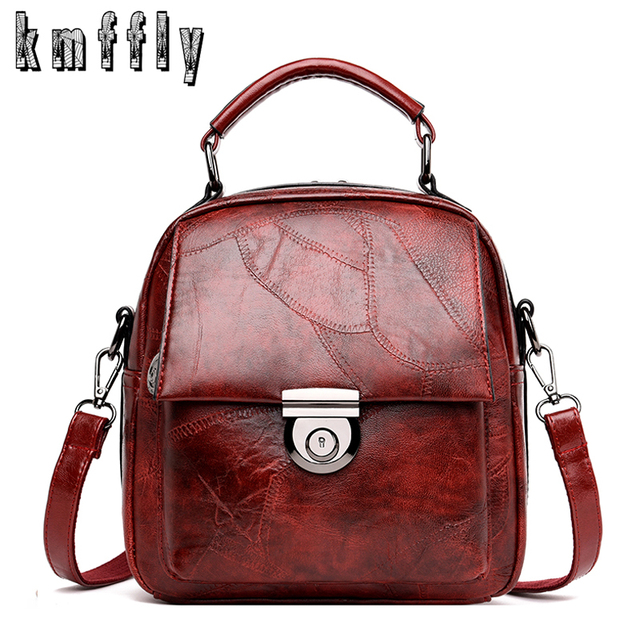 Women Backpacks Retro Stitching Backpack Mochila Preppy New Backpack Sac A  Dos Adolescente Ecole Backpacks For 8eae2e1f5b