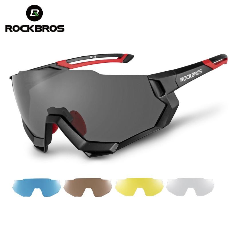 ROCKBROS New Bike Cycling Glasses Bicycle Sports Goggles Eyewear Polarized Photochromic Men Women 100% Sunglasses gafas ciclismo|Cycling Eyewear| |  - title=