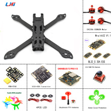 LHI PUDA frame fpv camera quadcopter kit assemble of omnibus F3 flight controller DX2306 brushless motor&Wraith32 35A ESC TureX lhi 4pcs wraith32 32bit 35a blheli