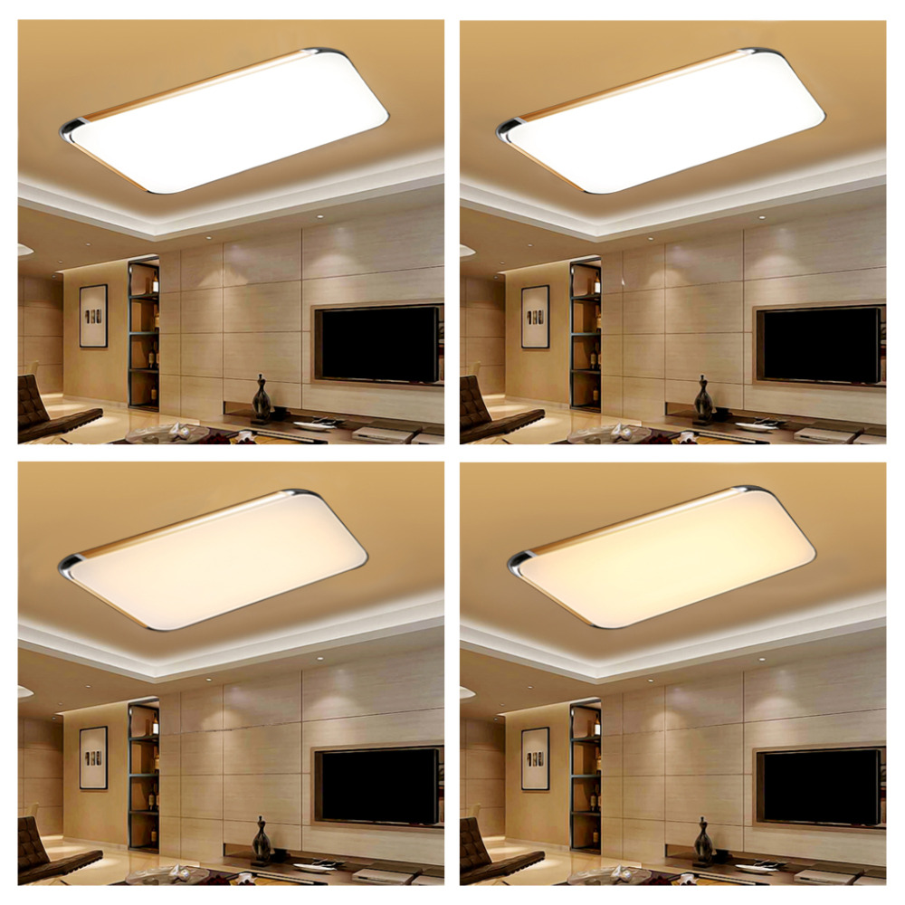 remote control living room bedroom modern led ceiling 14335 | remote control living room bedroom modern led ceiling lights 48w luminarias para sala dimming led ceiling