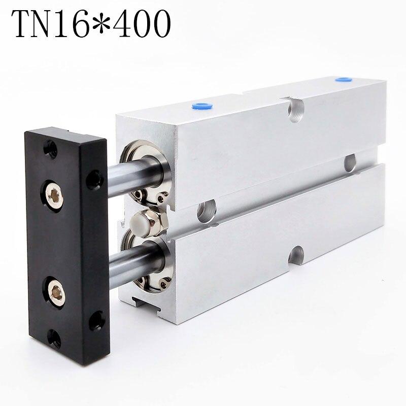 1pcs TN16*400 Pneumatic Cylinder Standard Aluminium Alloy1pcs TN16*400 Pneumatic Cylinder Standard Aluminium Alloy