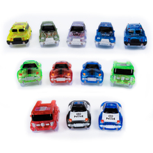 Tracks Cars Race Track Car In Toy Vehicle LED Light Electronics Car Tracks Toy Parts Car for Children Boys Birthday Gift