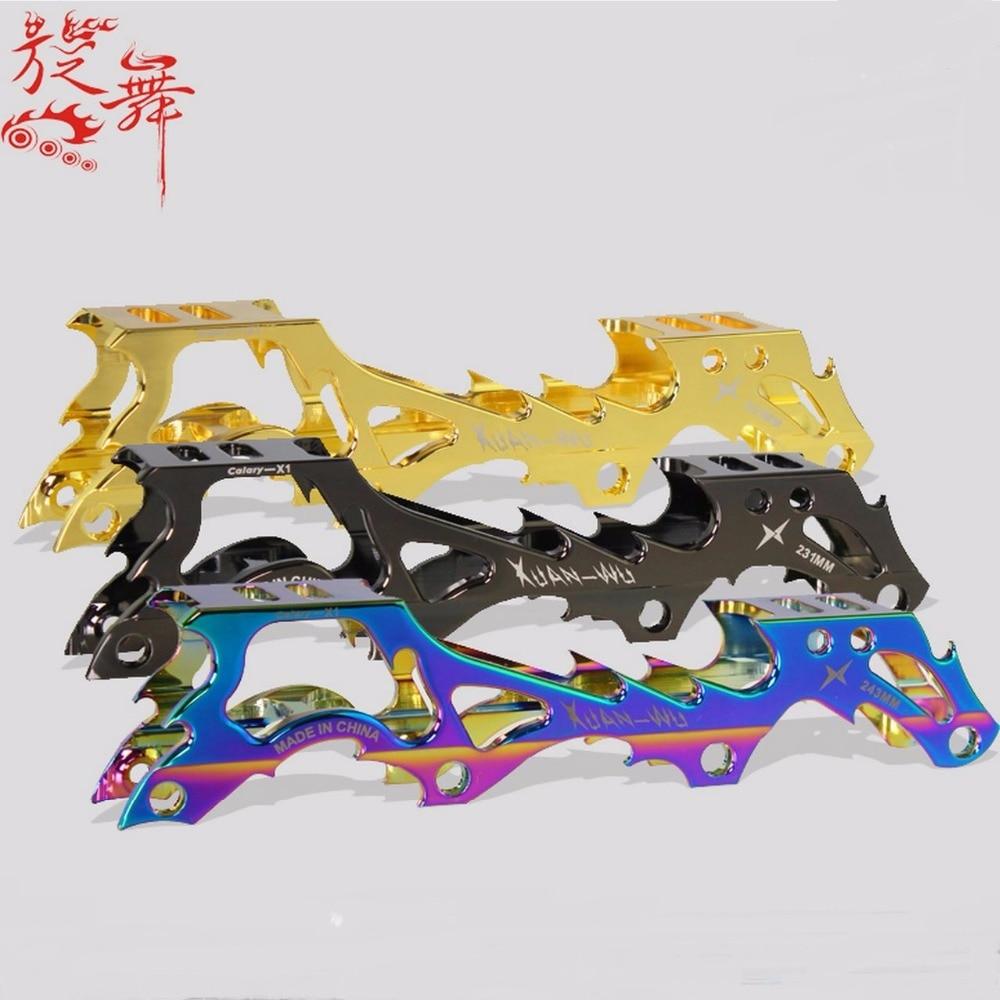 Dragon Aluminium (7075) inline Skate FRAME 231MM / 243MM inline roller penge Frame Slalom skate cipőkeret inline görkorcsolyakeret