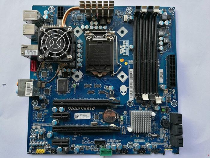 Original Zerlegen Für Dell Alienware Aurora R2 Lga1156 P55 Desktop-motherboard Rv30w Schnelle Farbe Motherboards