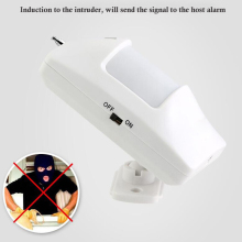 Wide Angle 433mhz Wireless IR Curtain Motion Sensor Home Infrared Security Alarm