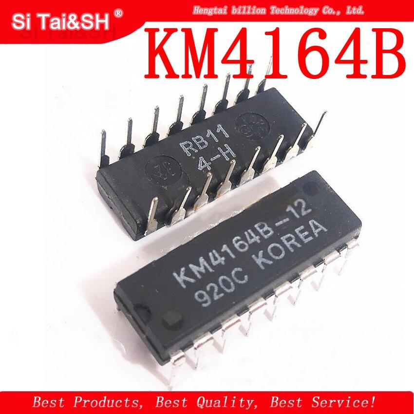 1PCS/lot 4164 KM4164B  KM4164B-12   DIP16