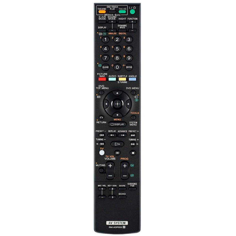 New remote control for sony AV system remote controller RM ADP033 RM ADP021 RM ADP022 RM