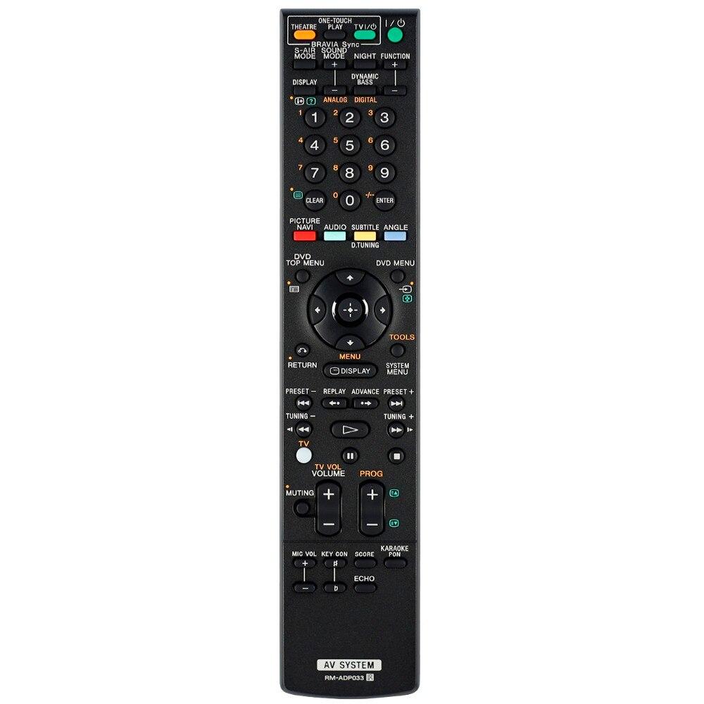 New remote control for sony AV system remote controller RM-ADP033 RM-ADP021 RM-ADP022 RM-ADP023New remote control for sony AV system remote controller RM-ADP033 RM-ADP021 RM-ADP022 RM-ADP023